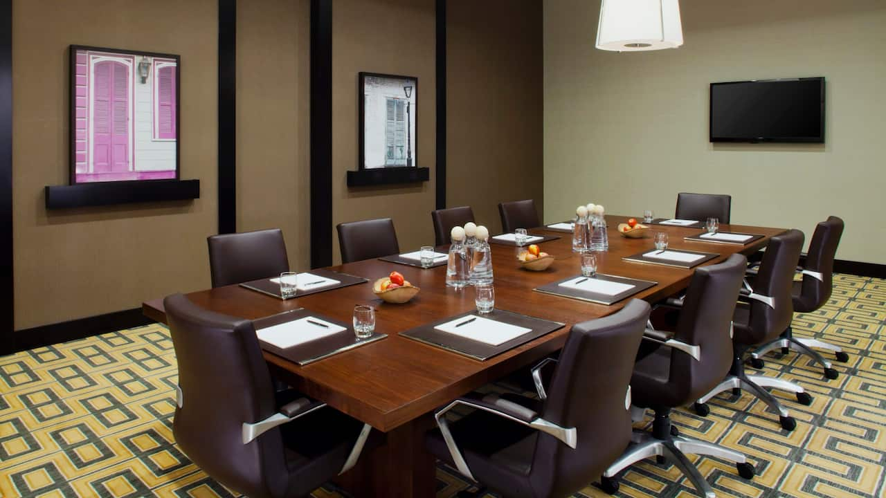 District Boardroom at Hyatt Regency New Orleans