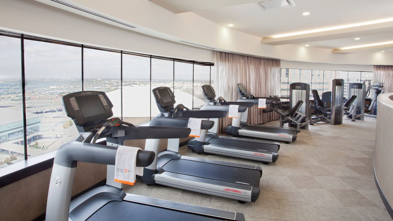 Fitness Center Hyatt Regency New Orleans