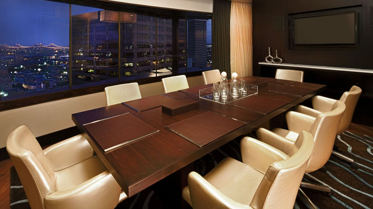 Boardroom at Hyatt Regency New Orleans