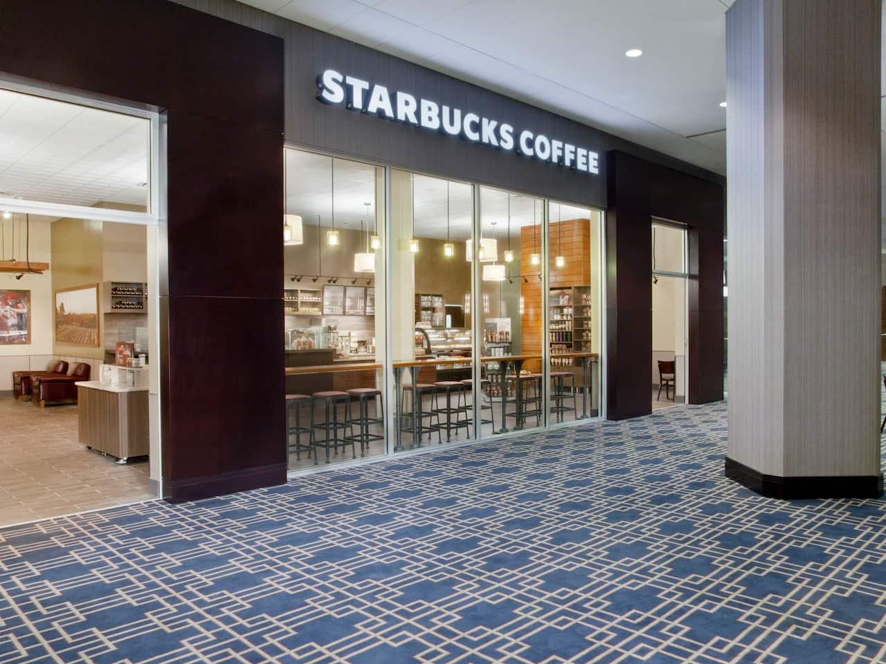Starbucks exterior at Hyatt Regency New Orleans
