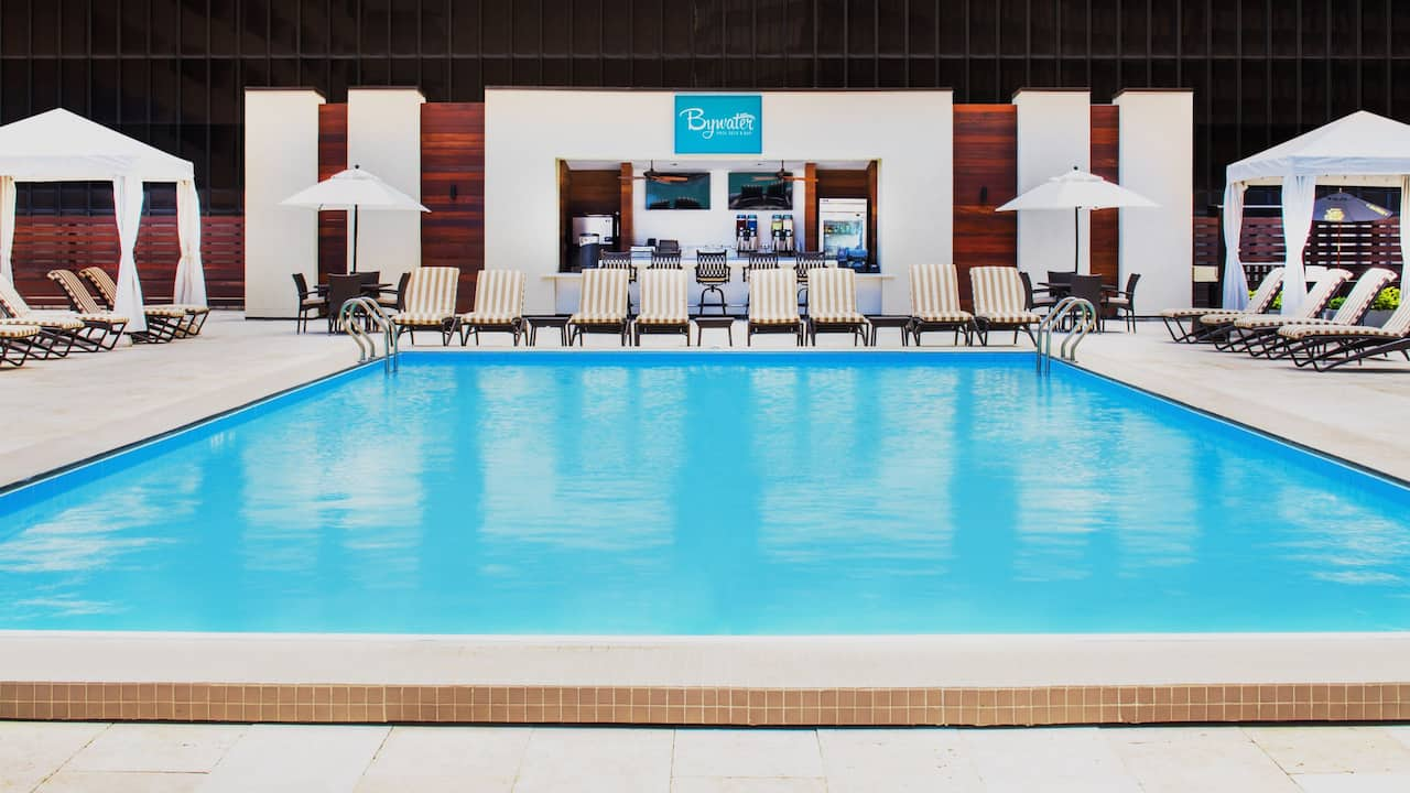 Pool at Hyatt Regency New Orleans