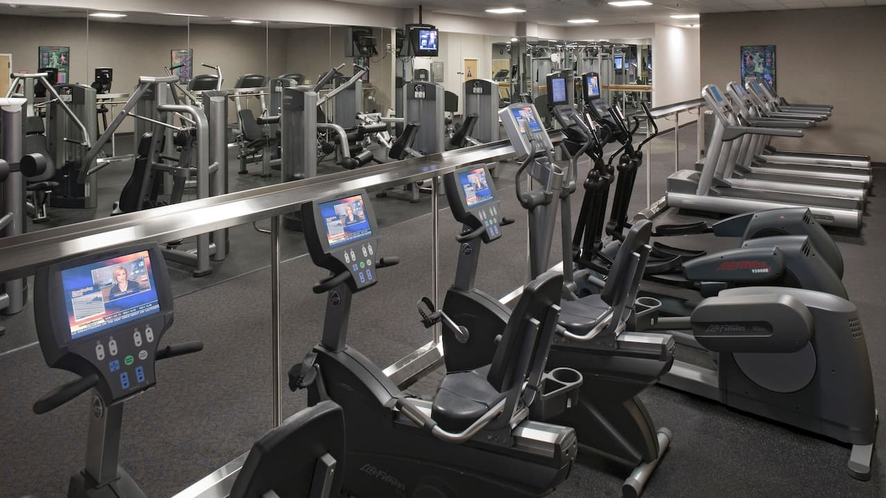 Fitness center Hyatt Regency Sacramento