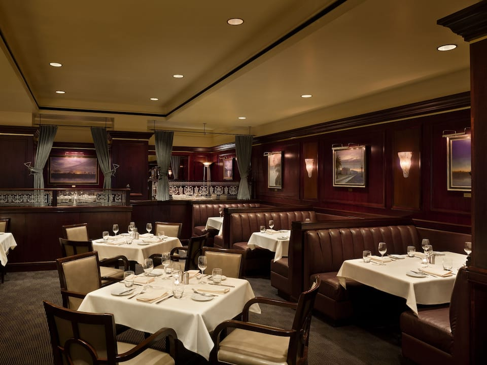 Dawson's Steakhouse Hyatt Regency Sacramento
