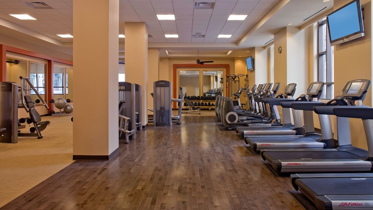 Hyatt Regency St Louis Fitness Center