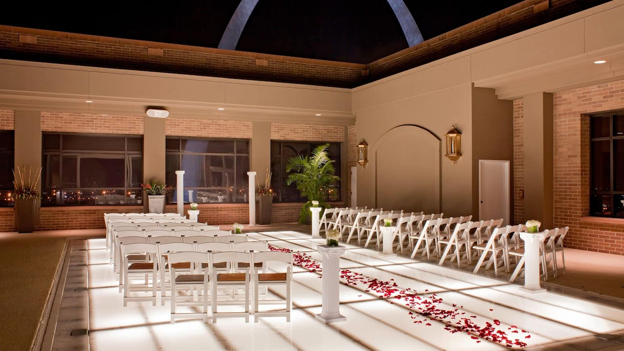 Hyatt Regency Saint Louis at the Arch Wedding Views