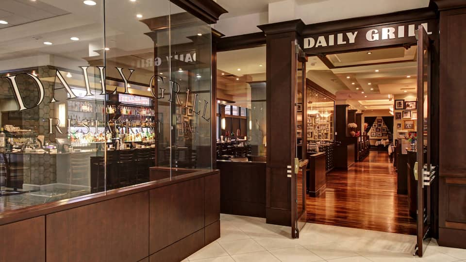 dining place entrance