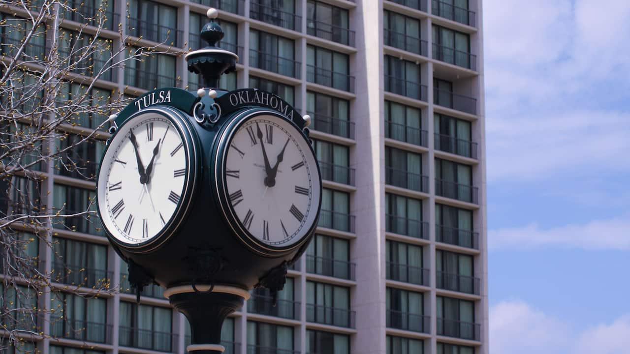 tulsa clock