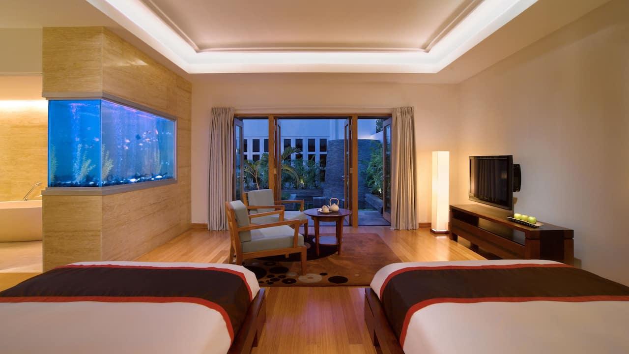 spa guestroom