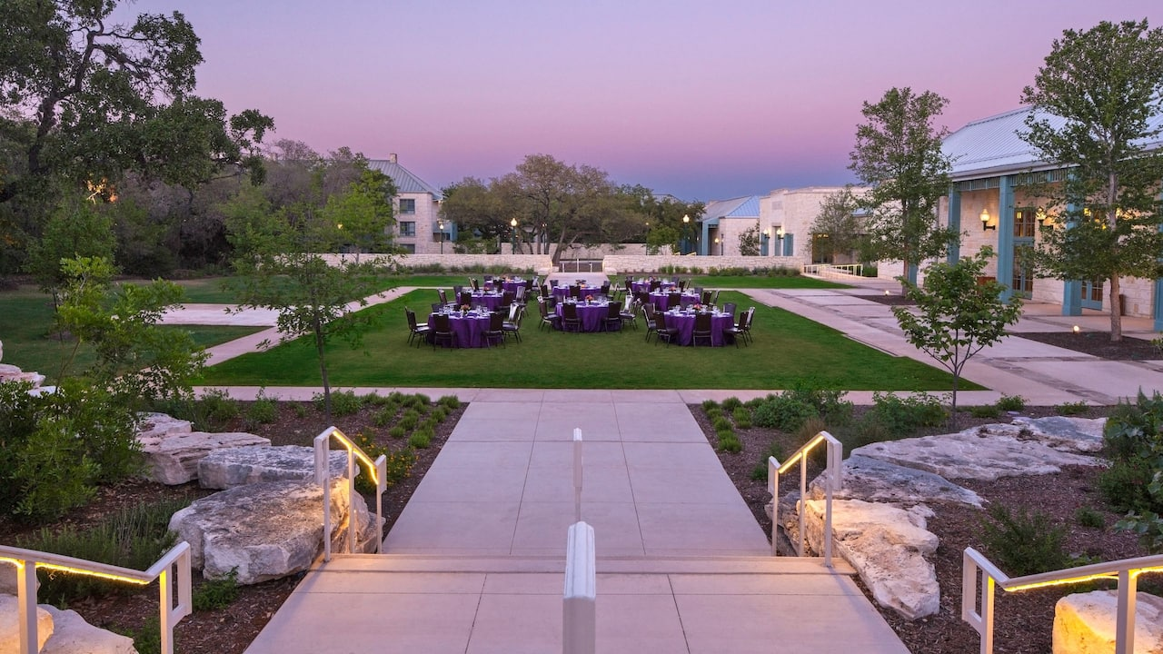 Independence Ballroom Hyatt Regency Hill Country Resort & Spa