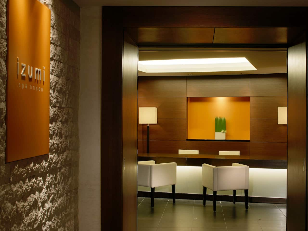 Hyatt Regency Hakone Resort & Spa | SPA IZUMI Reception
