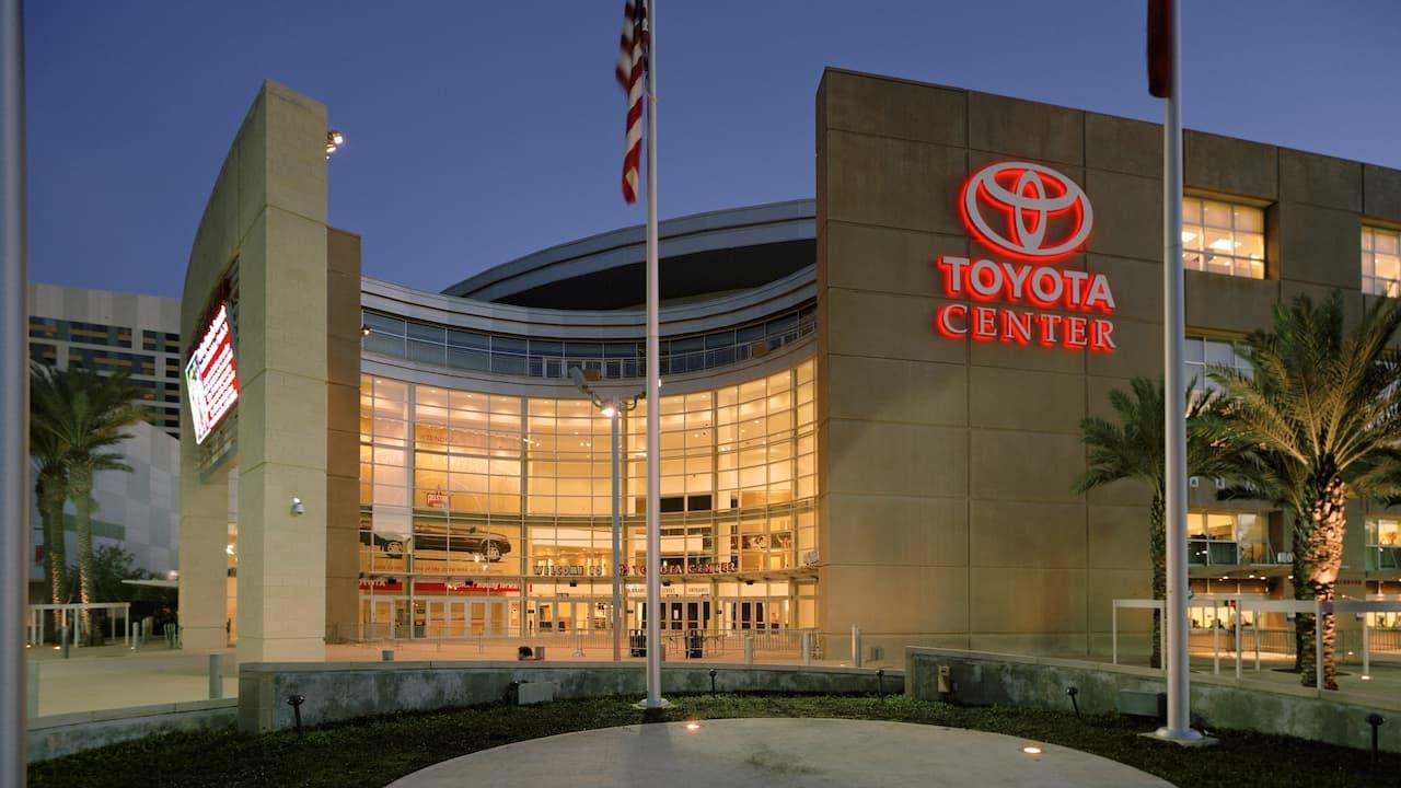 Toyota Center in Downtown Houston