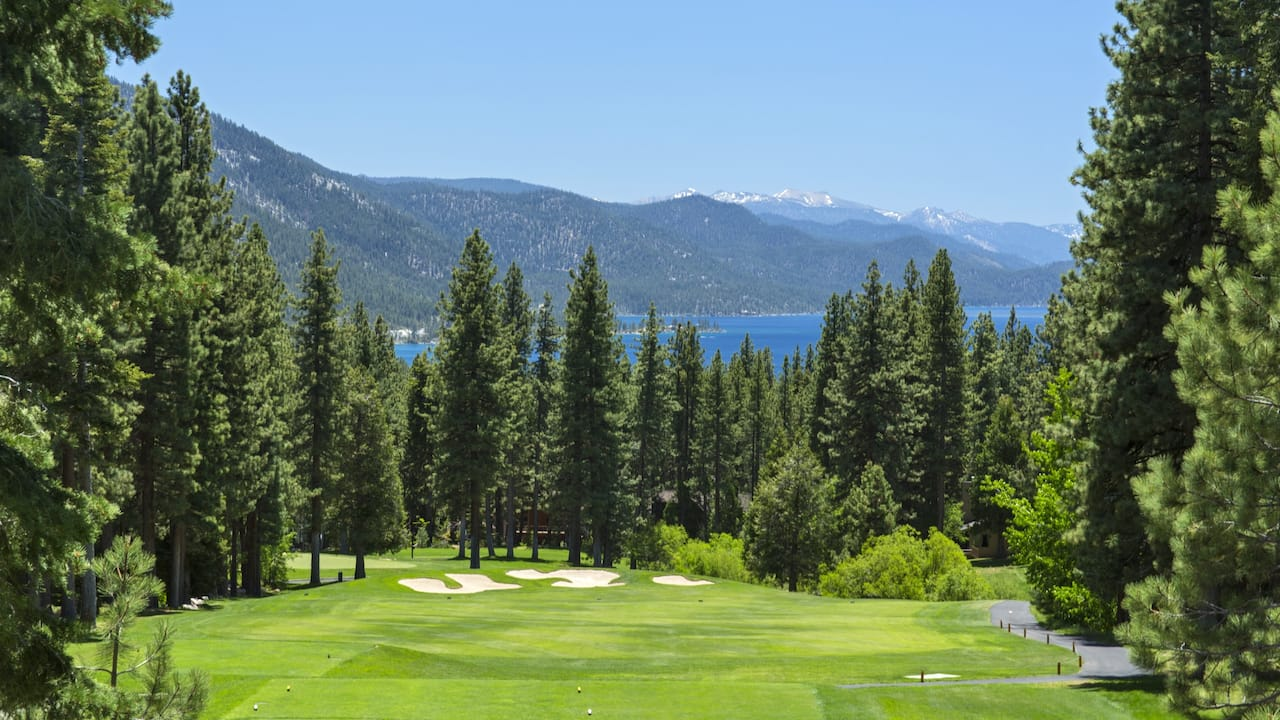 Championship golf course Hyatt Regency Lake Tahoe Resort, Spa & Casino