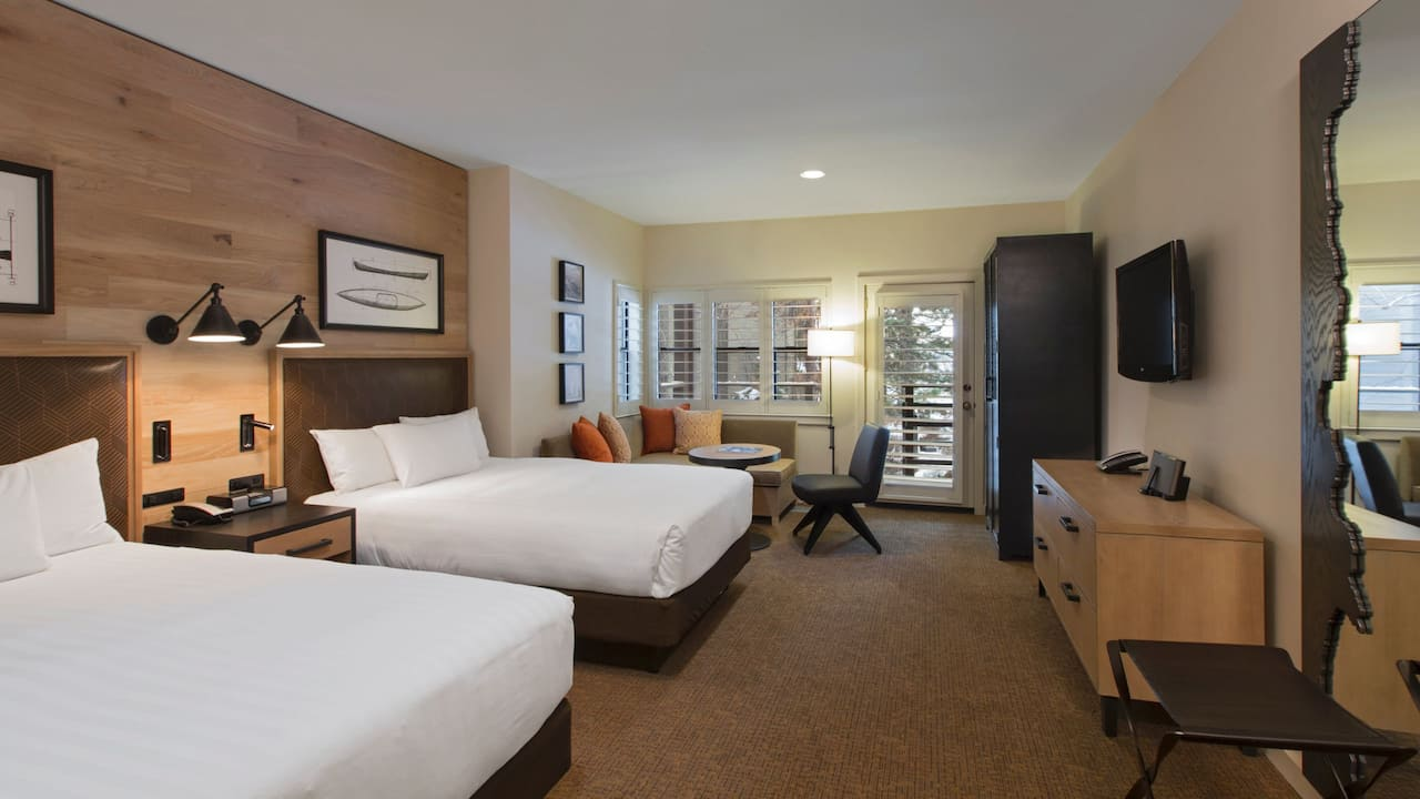Lake View Cottage with two Double Beds  Hyatt Regency Lake Tahoe Resort, Spa & Casino