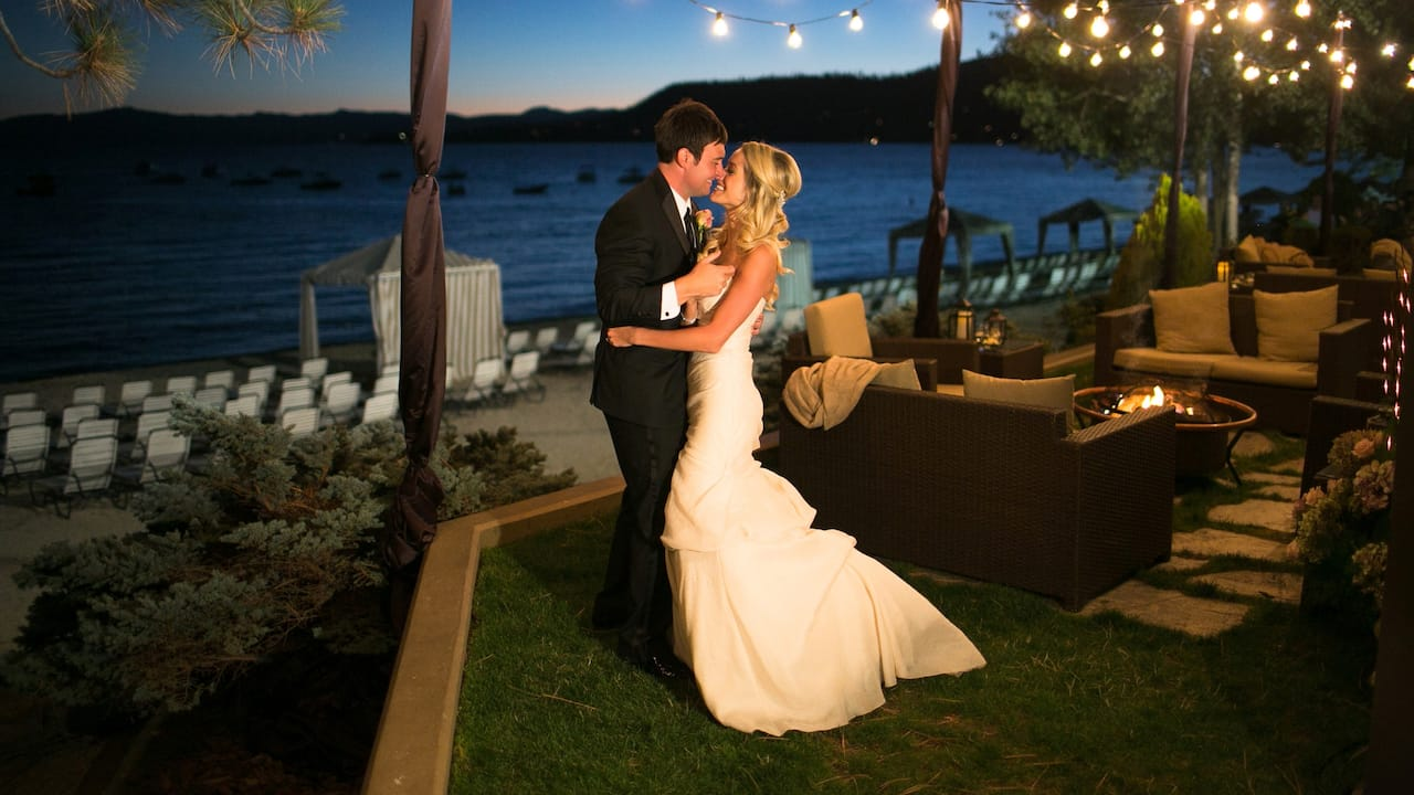 Wedding at Hyatt Regency Lake Tahoe Resort, Spa and Casino