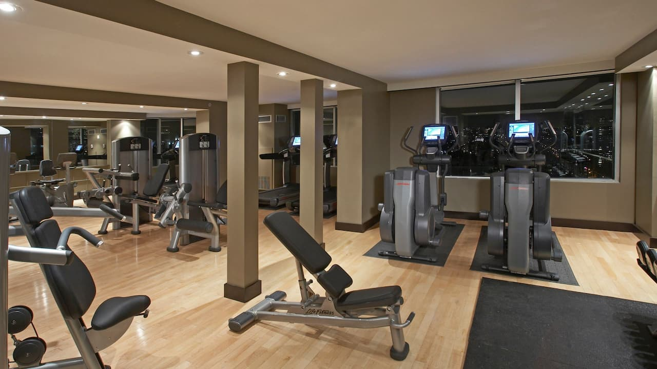 Hyatt Regency Toronto Fitness Center