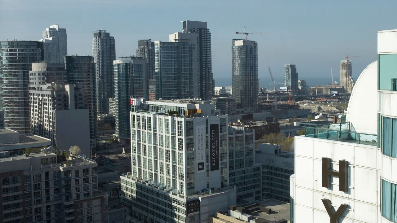 Hyatt Toronto City View