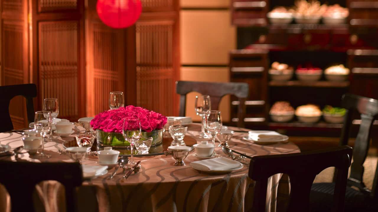 Hyatt Regency Kinabalu Wedding Ballroom Chinese Theme