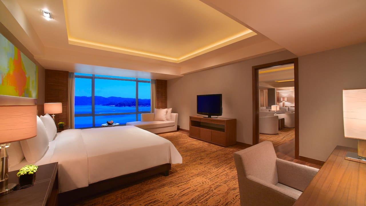 1 bedroom Presidential Sea View Suite, Hyatt Regency Kinabalu, Sabah
