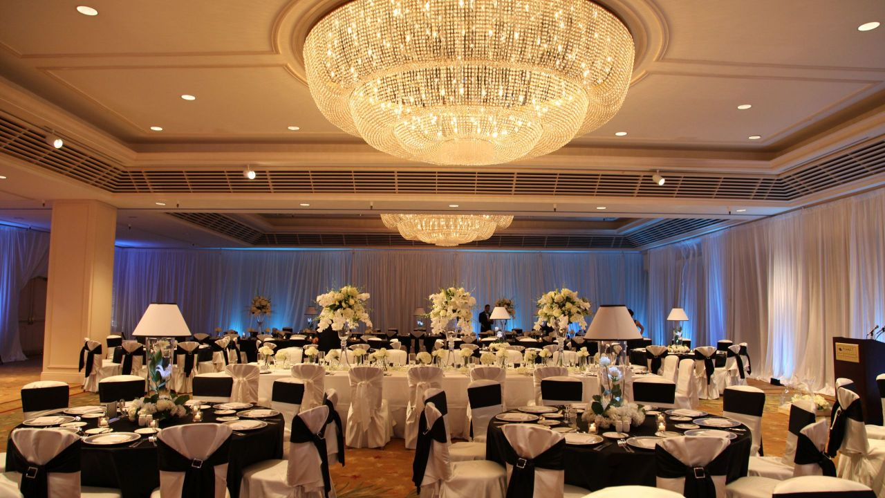 Regency Ballroom Wedding Reception