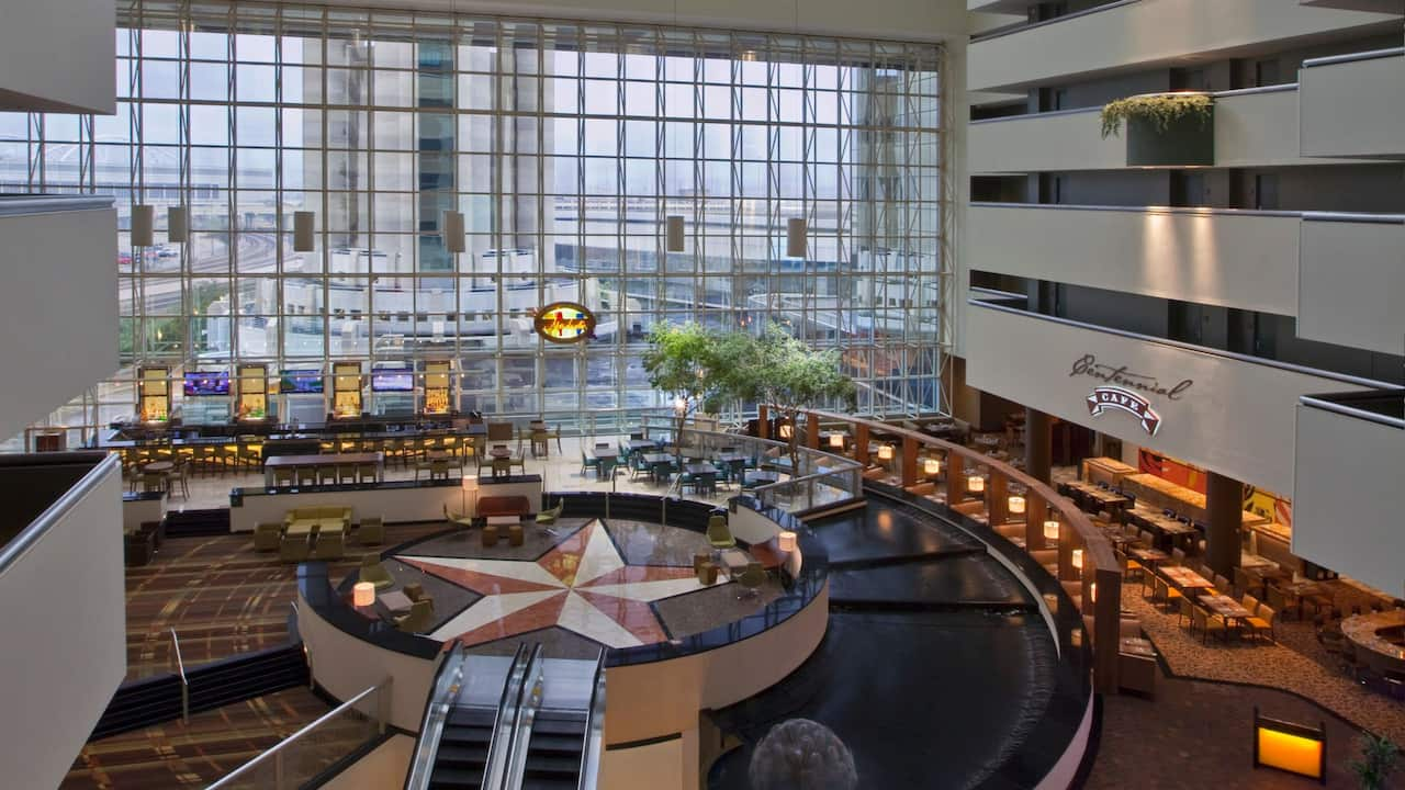 Hotel Atrium Hyatt Regency Dallas