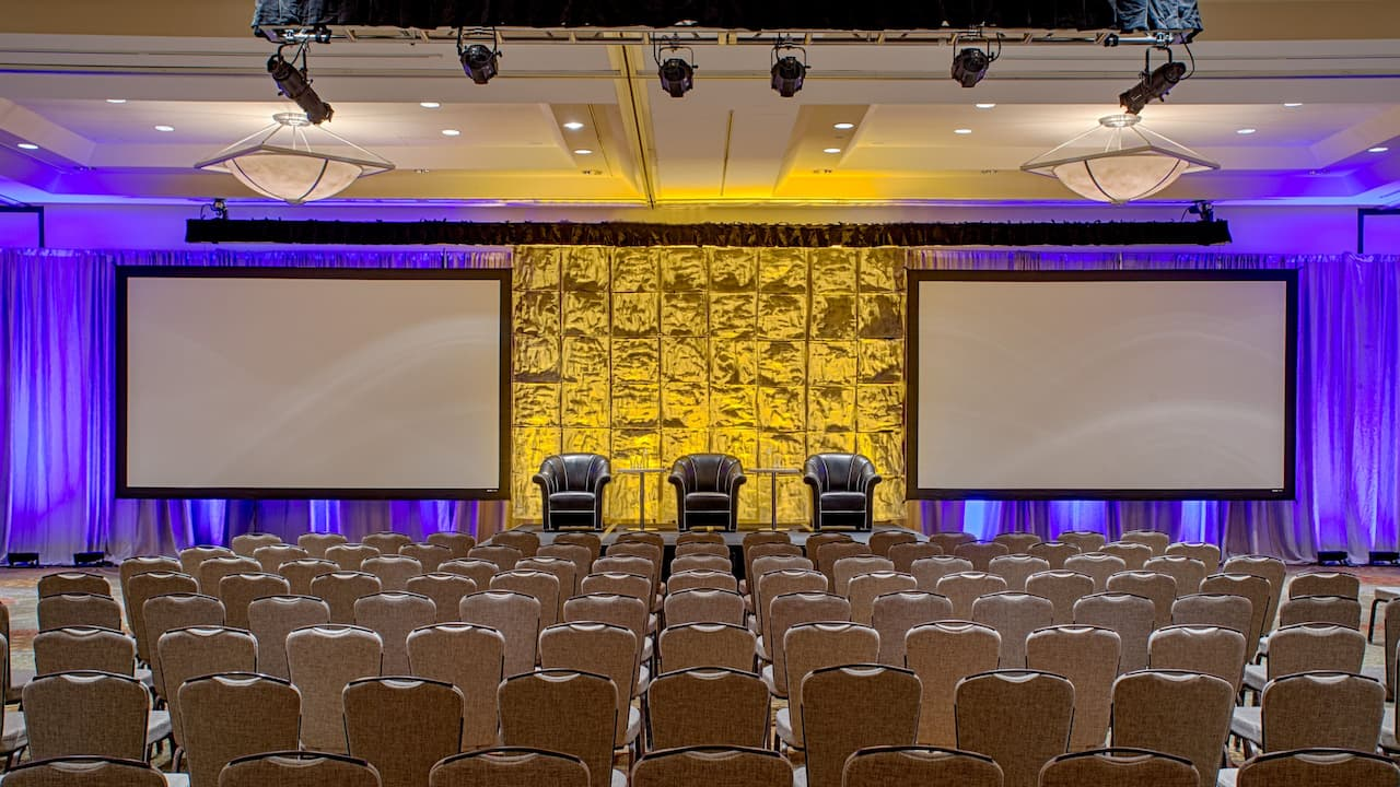 Nicollet Ballroom Theater Hyatt Regency Minneapolis