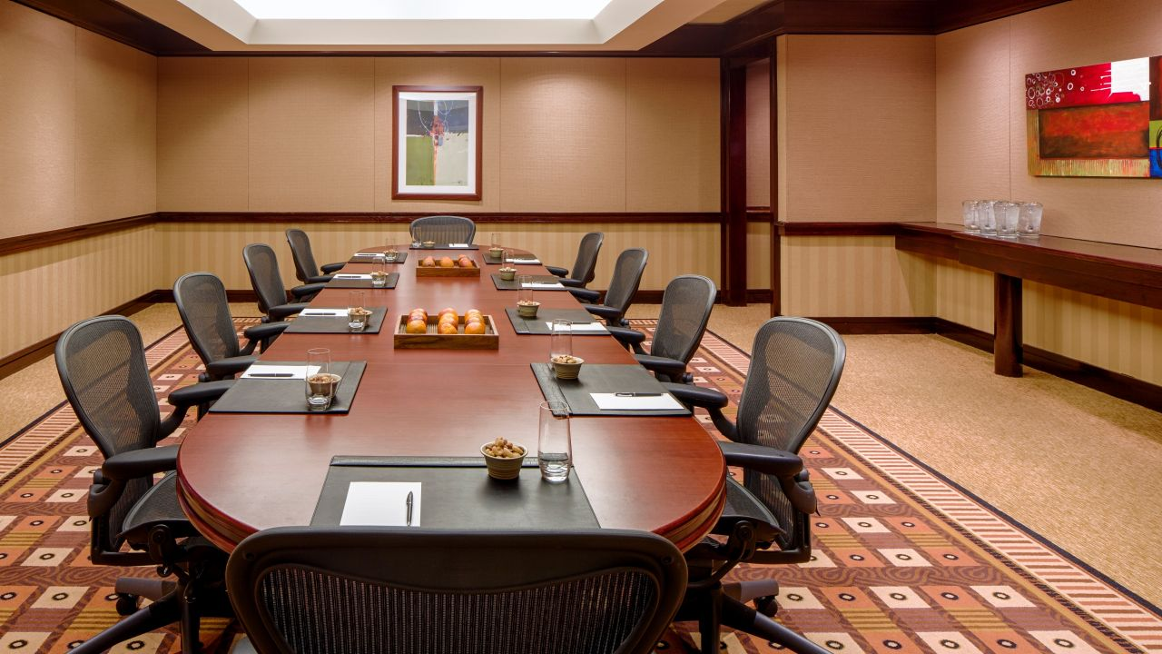 Hyatt Regency Denver Tech Center Boardroom Meeting Room