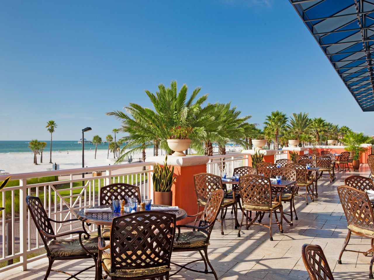 Orlando Restaurant with View of Gulf Hyatt Regency Clearwater Beach Resort