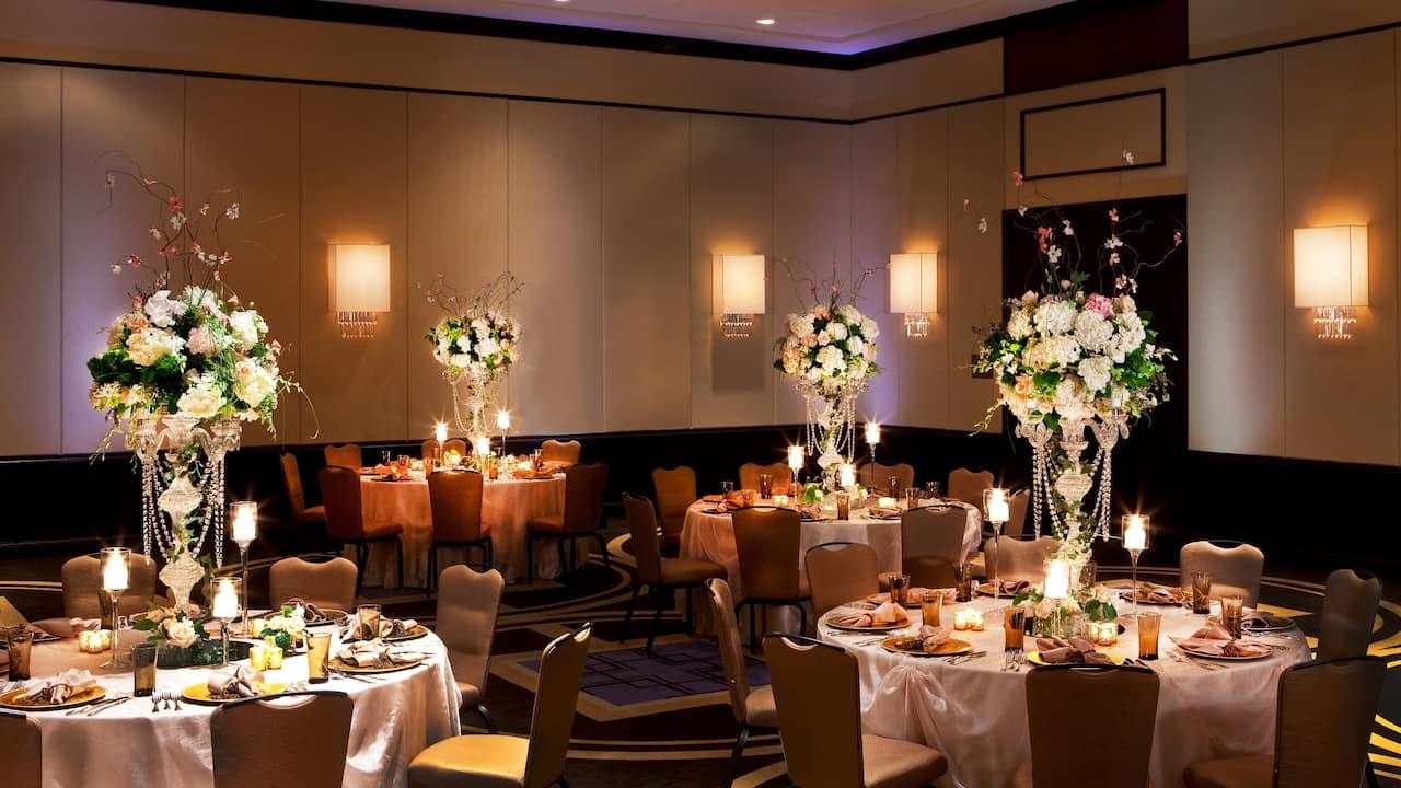 regency ballroom wedding