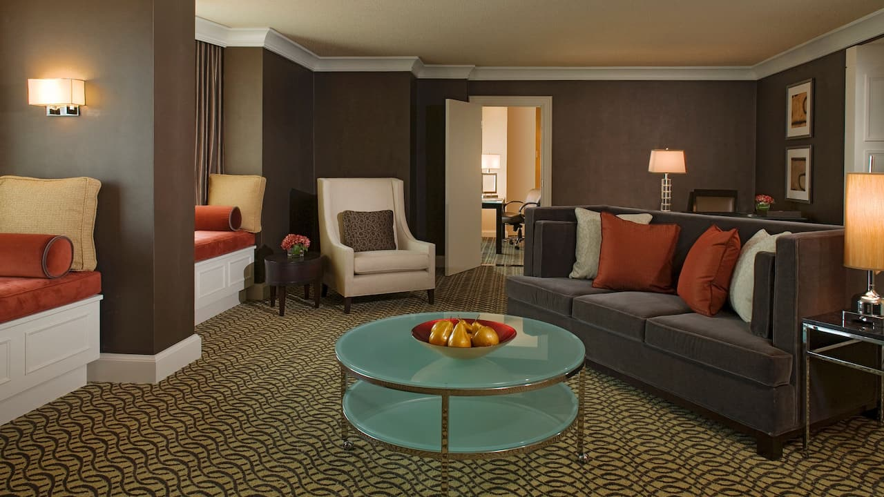 regency suite Hyatt Regency Reston