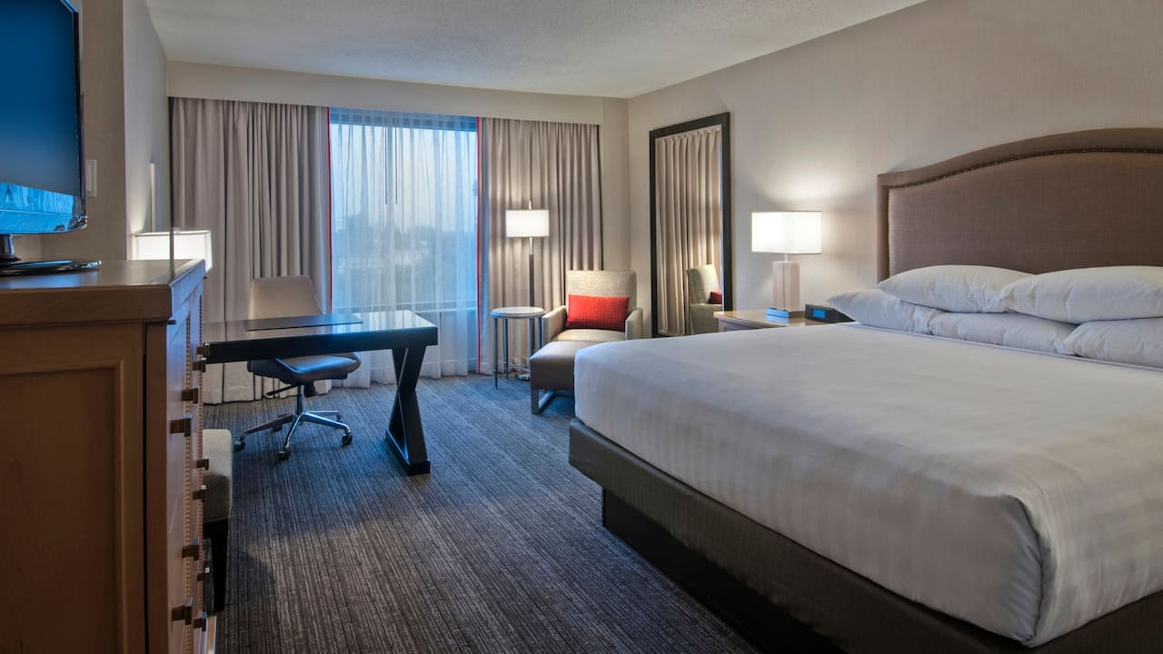 King Room at Hyatt Regency Reston