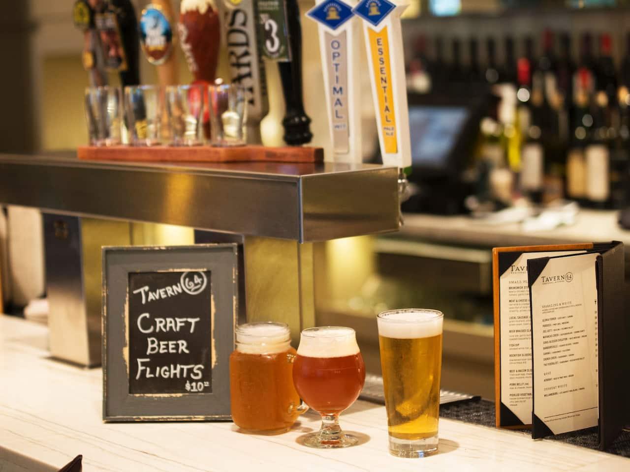 Tavern Drinks at Hyatt Regency Reston