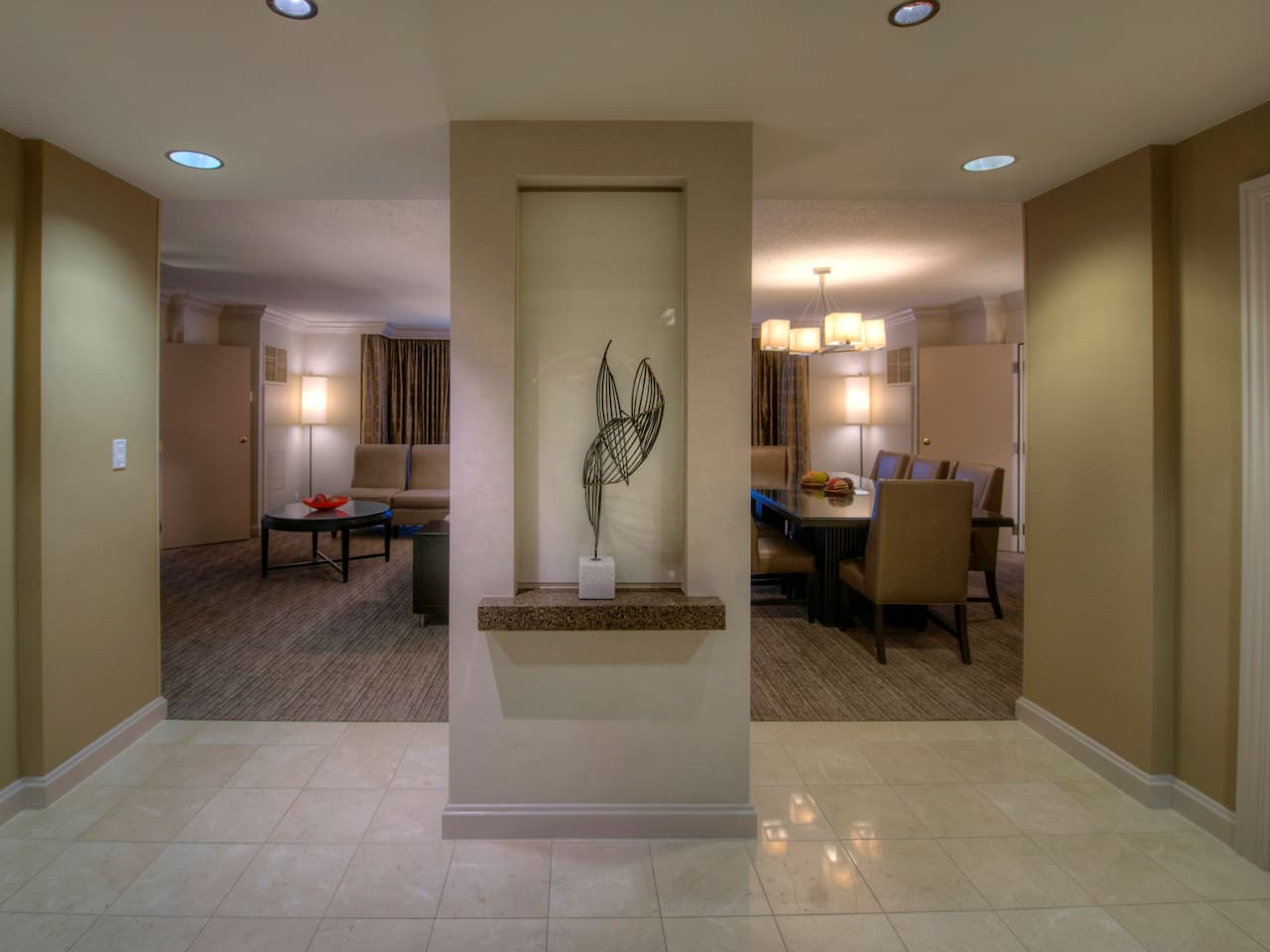 lobby entrance at Hyatt Regency Reston