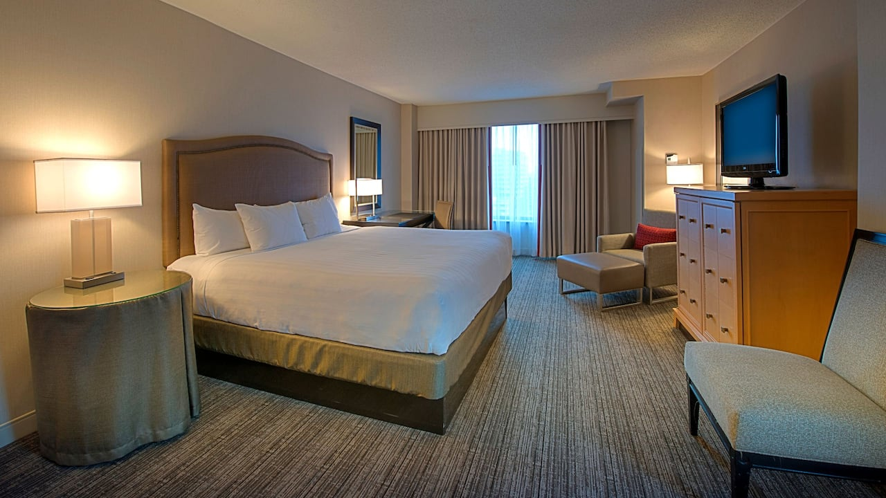 Deluxe Room with King Bed Hyatt Regency Reston