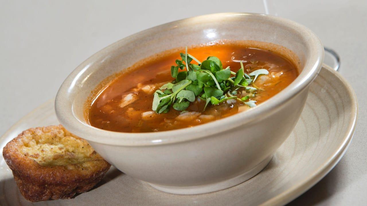 soup at Hyatt Regency Reston