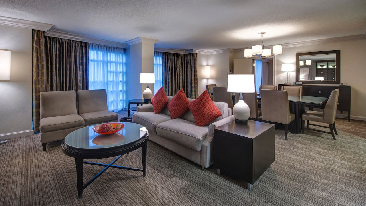 town center suite Hyatt Regency Reston
