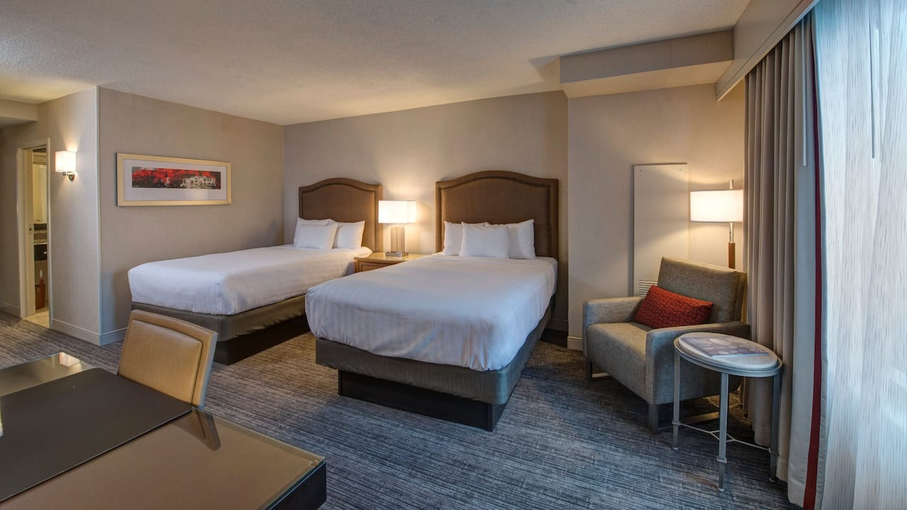 Business Plan Room with two Double Beds Hyatt Regency Reston