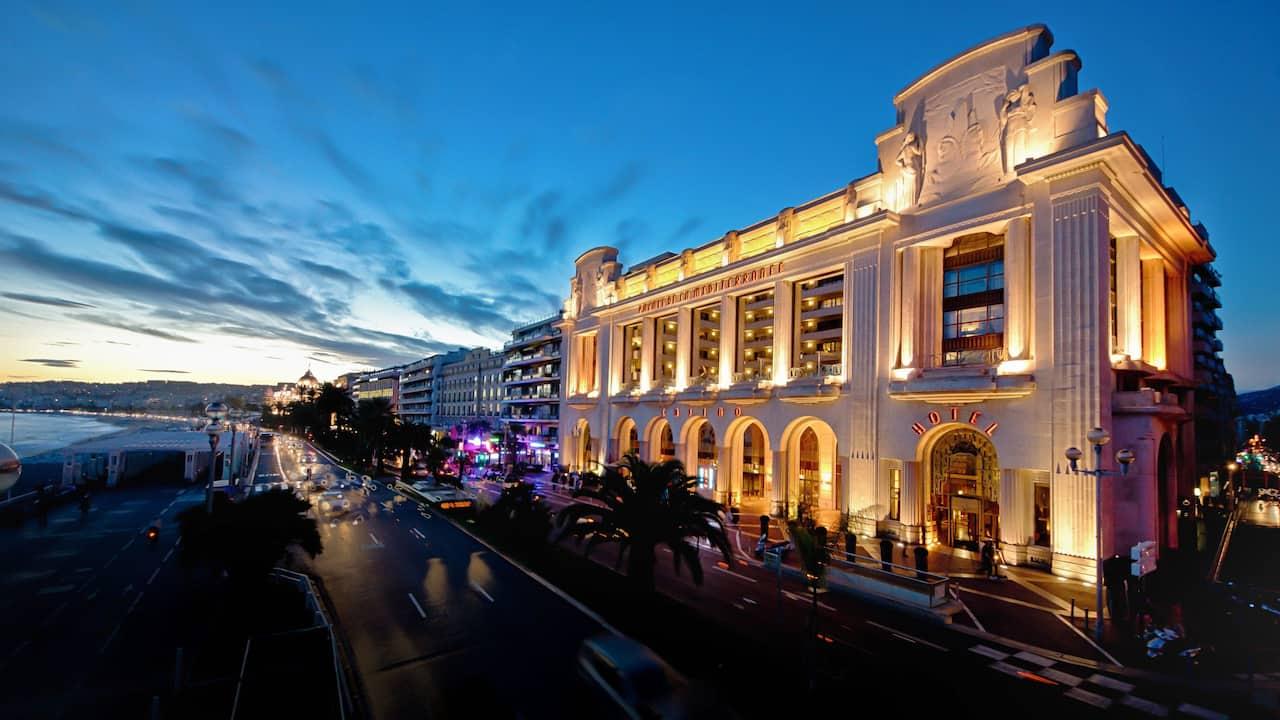 Hotel Hyatt Regency Nice – Sunseton the Promenade des Anglais