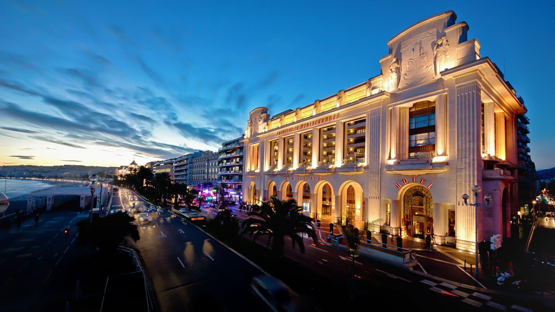 Hyatt Regency Nice Palais de la Mediterranee Facade