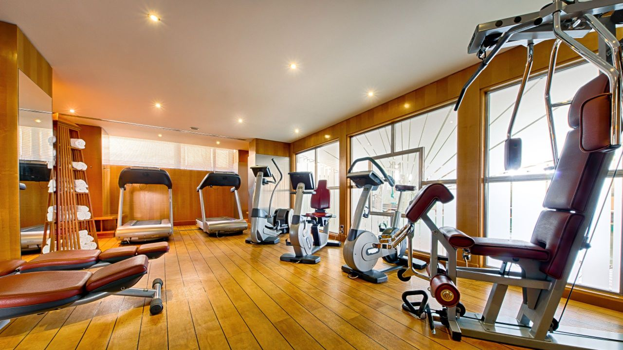 Fitness center at HotelHyatt RegencyNicePalais DeLaMéditerranée