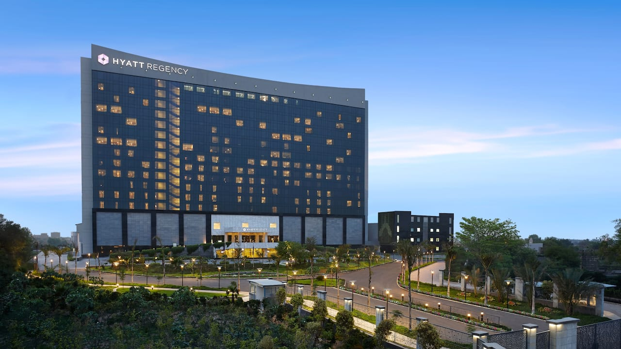 Exterior of Hyatt Regency Gurgaon