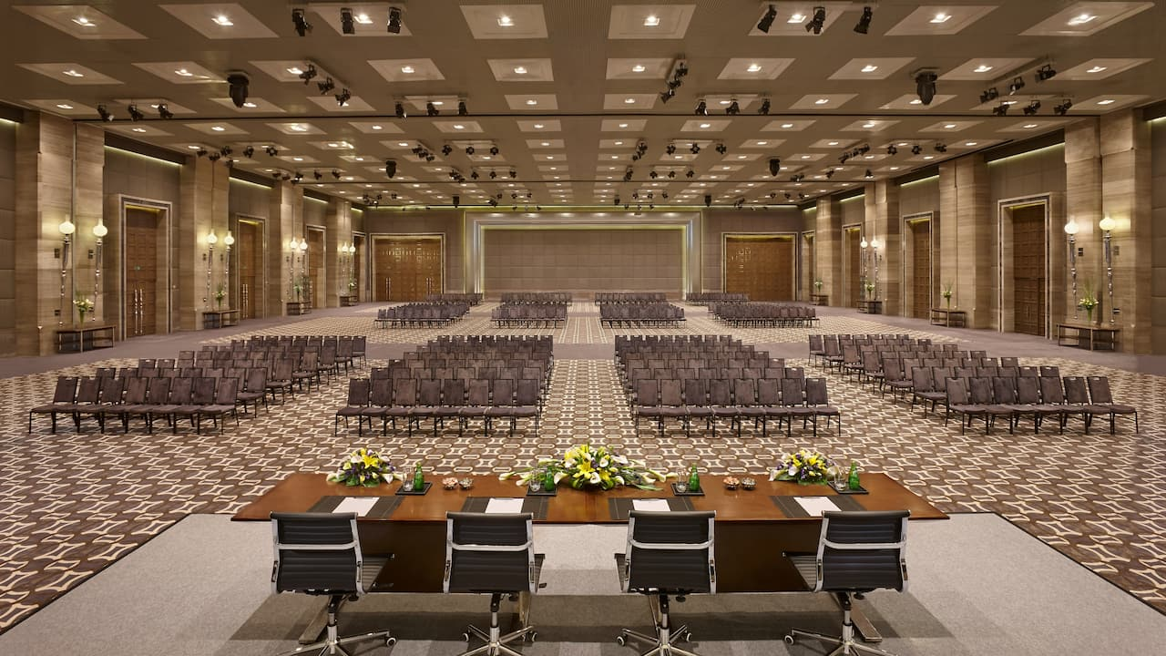 Regency ballroom at Hyatt Regency Gurgaon