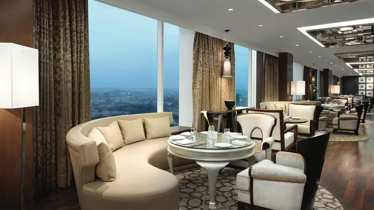 Regency Club room at Hyatt Regency Gurgaon