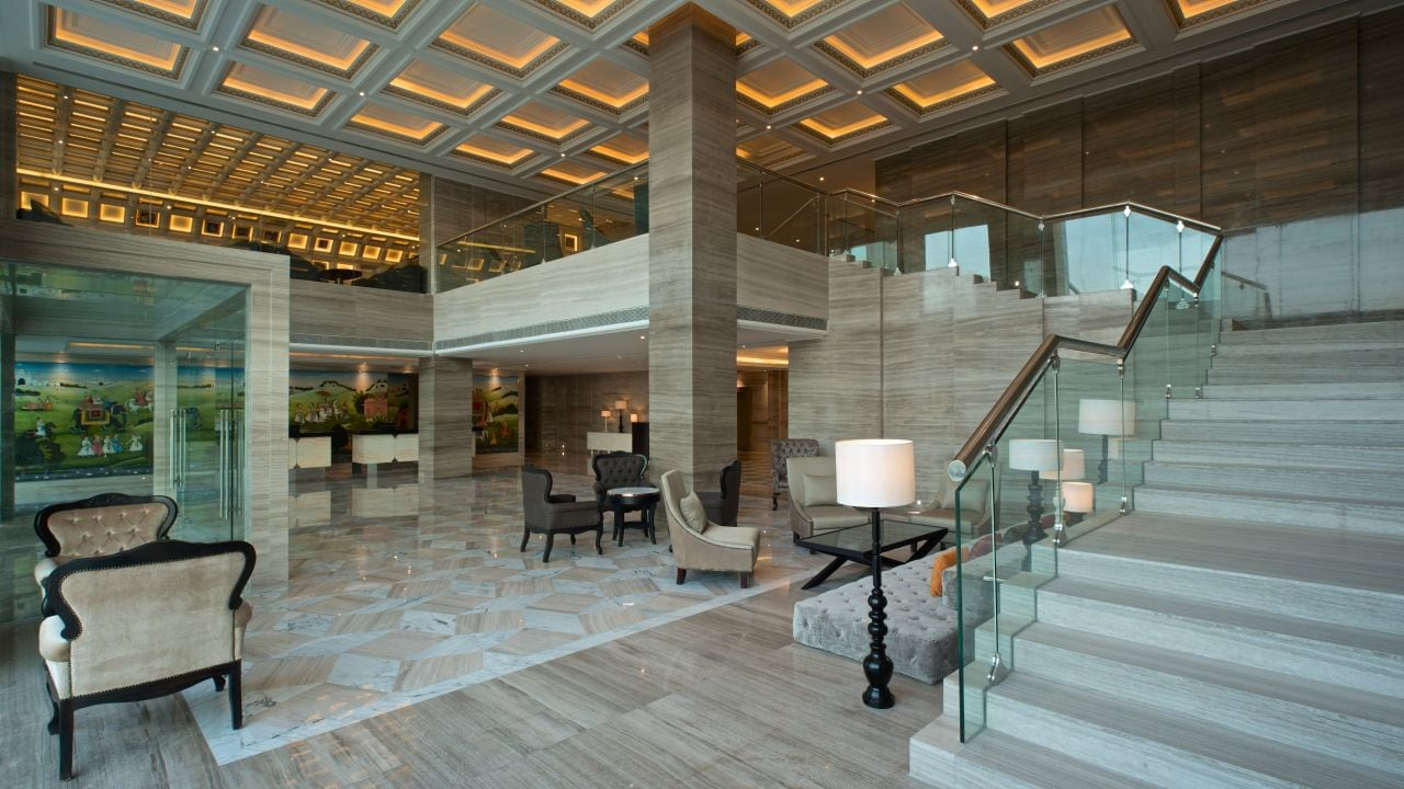Hyatt Regency Ludhiana lobby