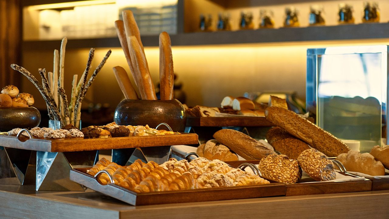 Hyatt Regency Ludhiana bakery