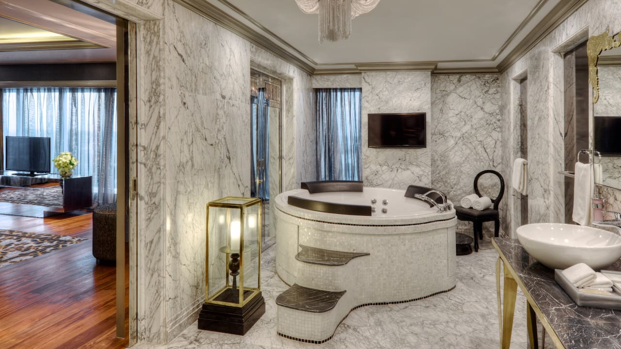 Presidential Suite Bathtub