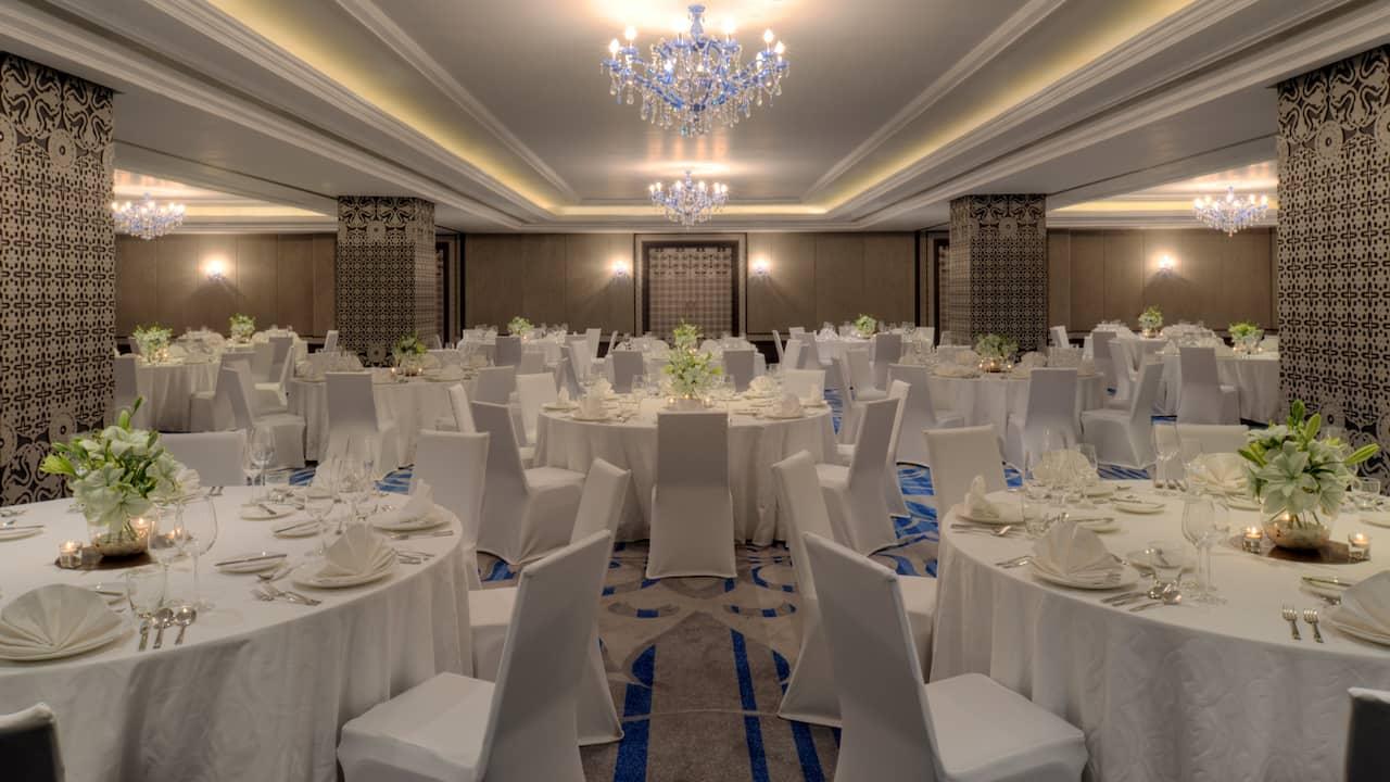 Hyatt Regency Ludhiana banquet setup