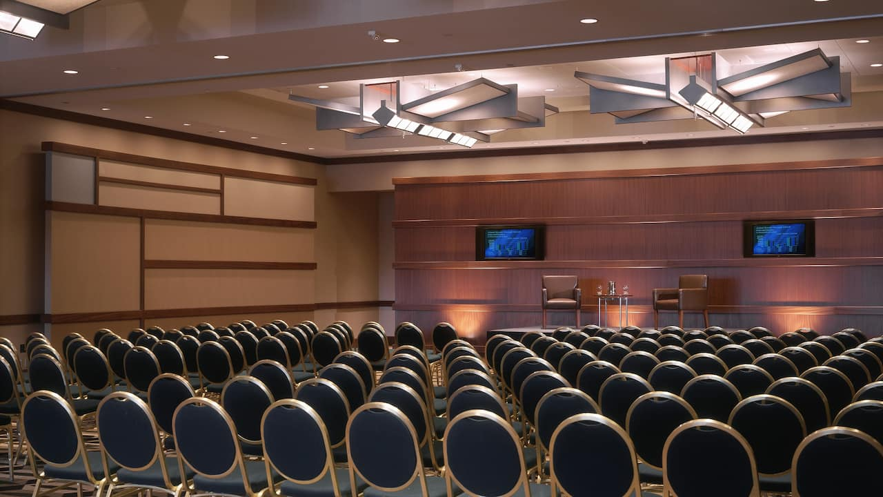 Innovation ballroom meeting setup