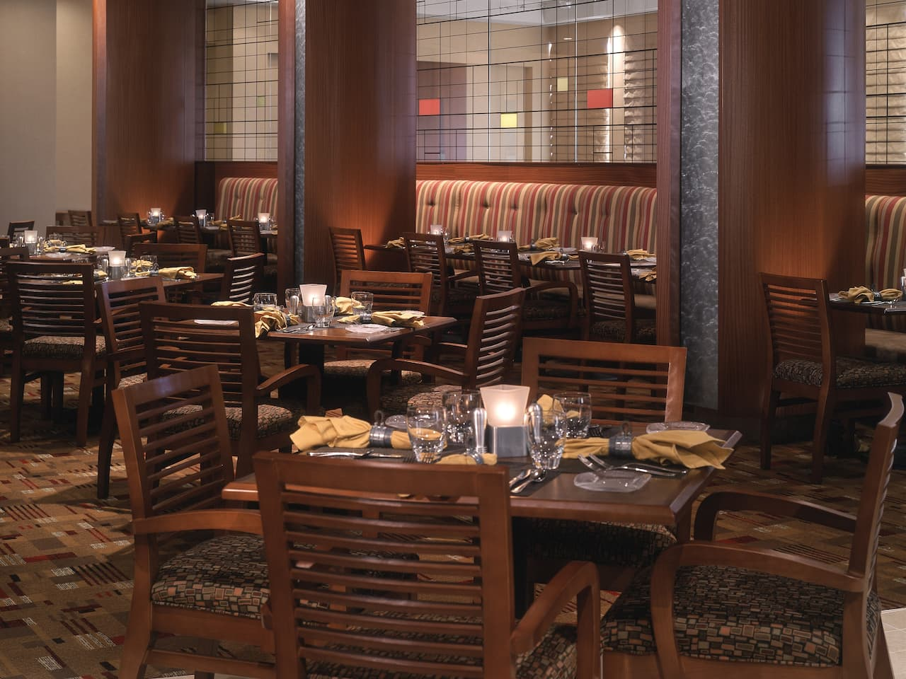 Jacob's Spring Grille seating