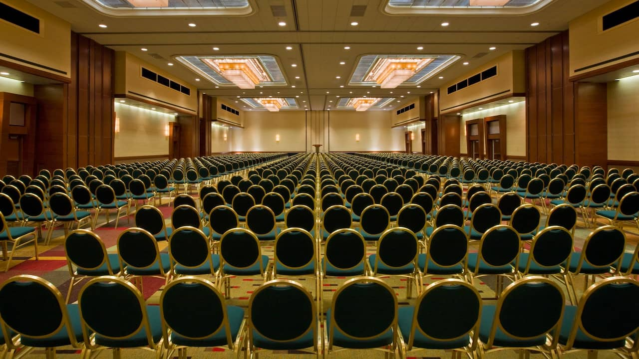 Hyatt Regency DFW Airport ballroom