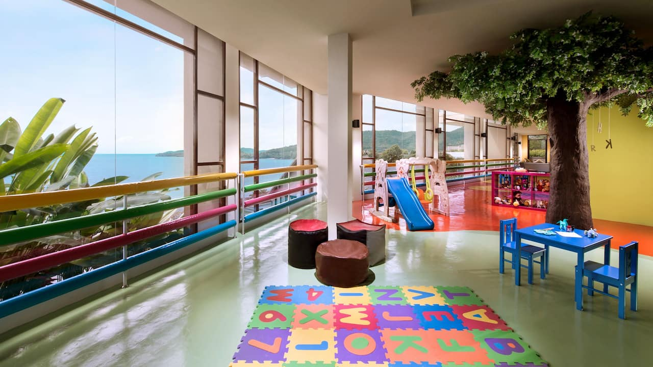 5-star Phuket Hotel in Kamala Beach Kids Club
